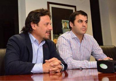 Gustavo Sáenz recibió al titular de Administración de Bienes del Estado