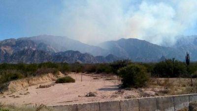 Un incendio forestal est� fuera de control en La Rioja