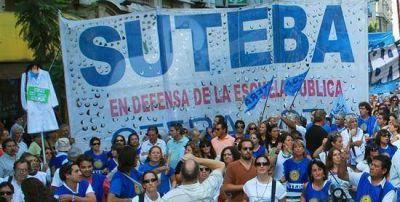 SUTEBA planteará un paro de actividades en la provincia de Buenos Aires por 48 horas