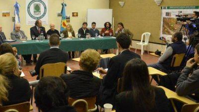 Senadores nacionales palparon la emergencia ambiental en la región