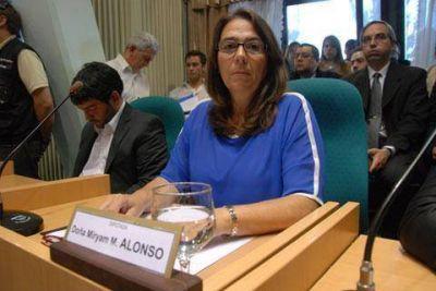 Myriam Alonso pidi� �revisar� la licencia social a Cerro Moro
