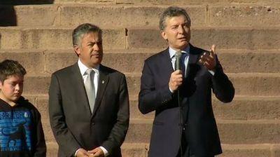 Mauricio Macri habló de las tarifas en el homenaje a San Martín: