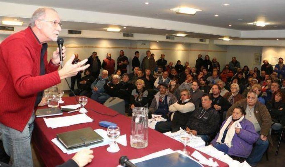 Plaini promete un plan de lucha responsable y racional