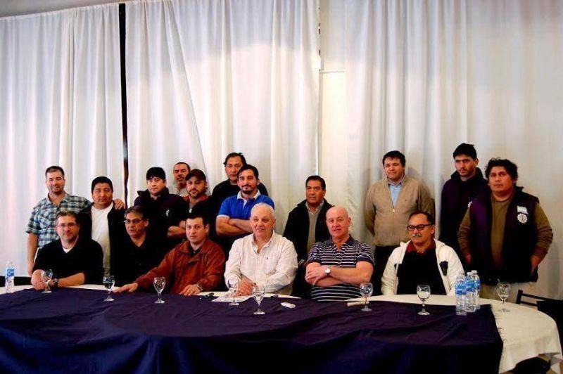 Presentaron la Lista Celeste para las elecciones en la seccional Puerto Madryn