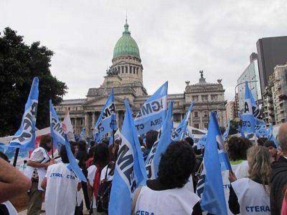 Agmer confirmó que adhiere a los paros y protestas convocadas por Ctera