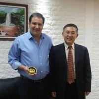 Garay recibi� a diplom�tico Chino con intenciones de acuerdos comerciales