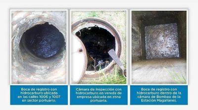 OSSE detect� volcamiento de l�quidos con hidrocarburos en zona portuaria