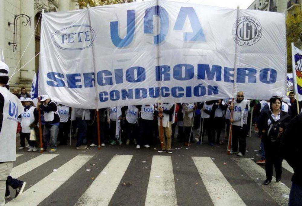 La Unión Docentes Argentinos anunció dos días de paro