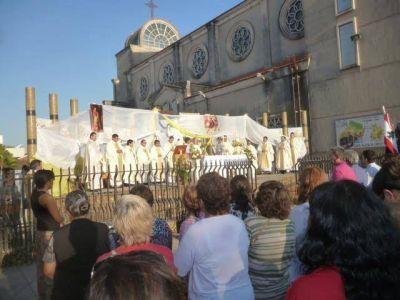 """Mons. Barbaro en la fiesta de San Roque: """"La misericordia exige entrega, sacrificio"""""""
