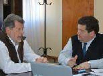 Berisso: Nedela y Elustondo recorrieron el Sector Industrial Planificado