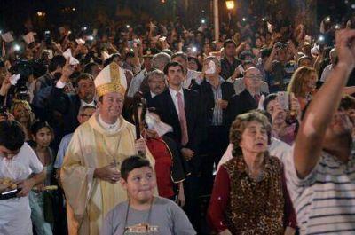 Urtubey acompa�� a la comunidad de Embarcaci�n en su fiesta patronal