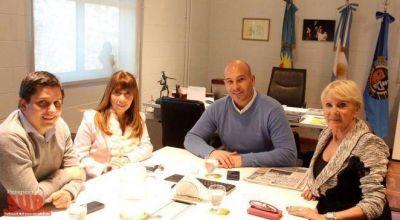 Molina se reunió con concejales del Frente Comunal