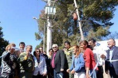 Homenaje a San Martín e inauguración en Los Altos