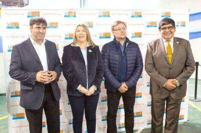 Bertone destacó la visita de los diputados Bossio y Romero