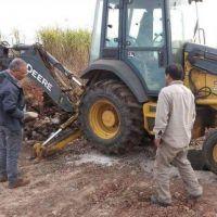 Jujuy H�bitat lleva obras cloacales y el�ctricas a Caimancito