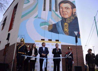 """Presentaron el """"Circuito San Martín"""" en la Ciudad"""
