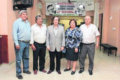 Funcionario nacional se reúne con los canillitas