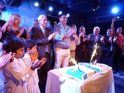 Inuguraron viviendas sociales y otras obras en el marco del 216º Aniversario de Antajé