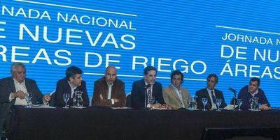 """Río Negro lista para recibir proyectos de riego: """"Hay coincidencias entre privados y productores"""""""