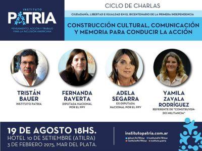 El Instituto Patria realizará un ciclo de charlas en Mar del Plata
