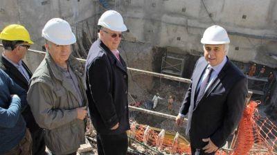 La construcción del edificio anexo de Diputados tiene un 16 por ciento de avance