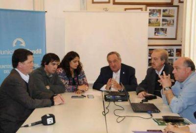 Lunghi confirmó el convenio con Nación para la urbanización integral de La Movediza