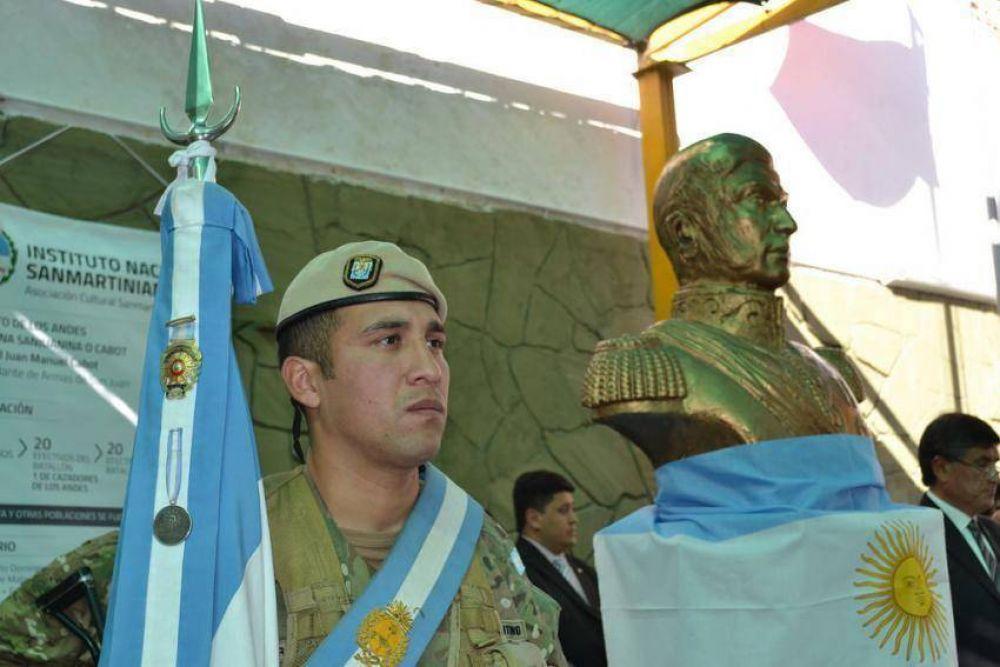 Mons. Delgado destacó el temple de ciudadano y patriota del General San Martín