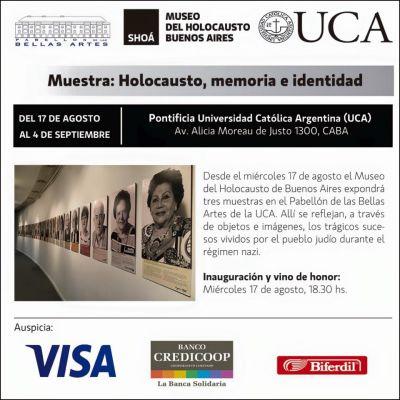 El Museo del Holocausto inaugur� tres muestras sobre la Sho� en la UCA