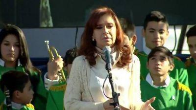 Cristina en campa�a: