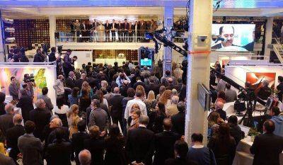 El Banco Ciudad reinauguró su casa matriz