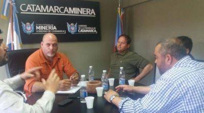 Minería se reunió con proveedores de Andalgalá por la situación del sector