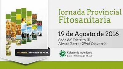 Jornada Provincial Fitosanitaria en Olavarría