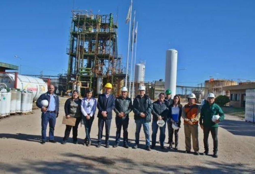 Más visitas del Gobierno provincial a industrias de Villa Mercedes