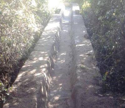 Se operan mejoras para los canales de Lafinur y Cortaderas