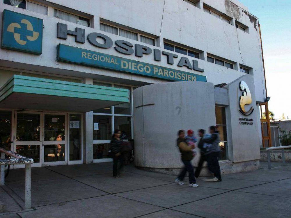 Por 24 horas, el hospital Paroissien no atenderá al público