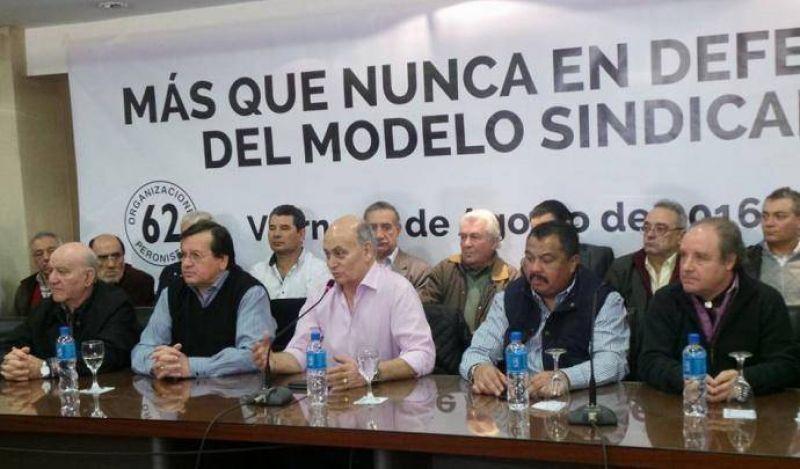Venegas se bajó del congreso de la CGT y buscará impugnarlo por nulo