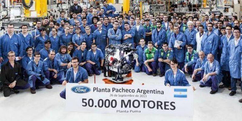 Ford suspendió a 300 trabajadores y ofrece retiros voluntarios en su planta de Pacheco