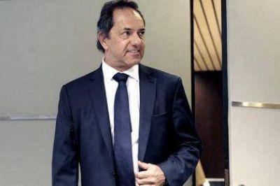 """Scioli: """"El peronismo se tiene que reorganizar para ayudar a sacar adelante al país"""""""