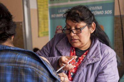 Realizar�n test de VIH y vacunar�n contra la Hepatitis B en barrios salte�os
