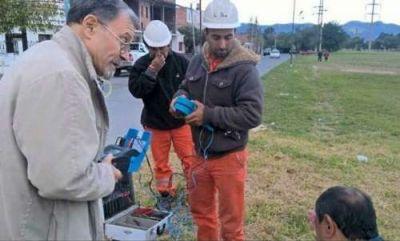 Controlan el trabajo realizado por Lusal en la ciudad
