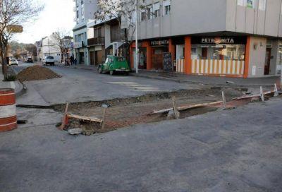 Avanzan obras de infraestructura vial en diferentes zonas de la ciudad