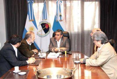 Alfaro pide revisar el esquema de coparticipación para fortalecer a los municipios