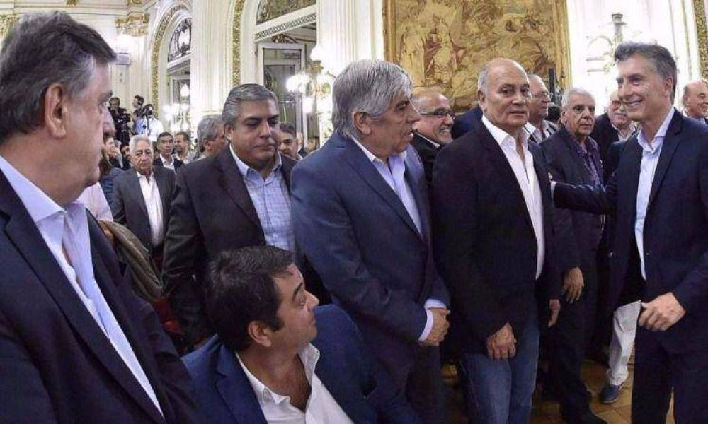 """El """"Momo"""" dice que Massa controlará la CGT y le pide a Macri que dinamite la reunificación"""