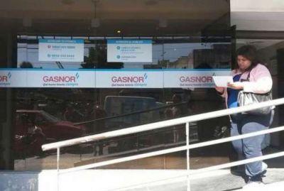 Las facturas de Gasnor atrasadas se podrán pagar en cuotas