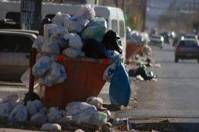 Los espacios verdes como lugares para arrojar basura