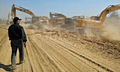 Pilcomayo: Paraguay inició los trabajos desplegando 25 máquinas en la zona