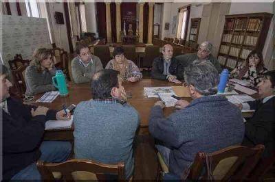 Reunión en el Concejo por el ordenamiento territorial