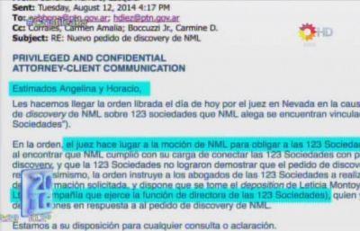 Qu� dicen los mails de la procuradora kirchnerista sobre L�zaro B�ez