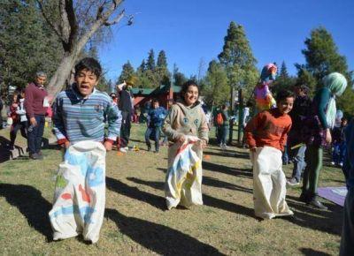Parque de las Naciones: el festejo convoc� a unos 15 mil ni�os
