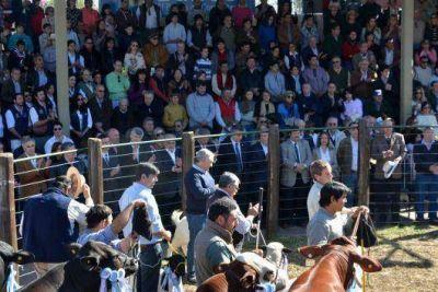 Con optimismo y presencia de Nación, Colombi inauguró la Exposición Rural